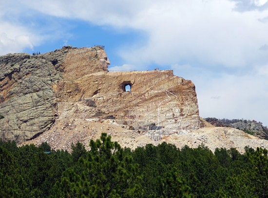 Crazy Horse Memorial by Jets Like Taxis