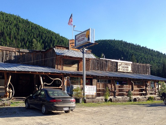 Wild Coyote Saloon in Thompson Falls, MT by Jets Like Taxis