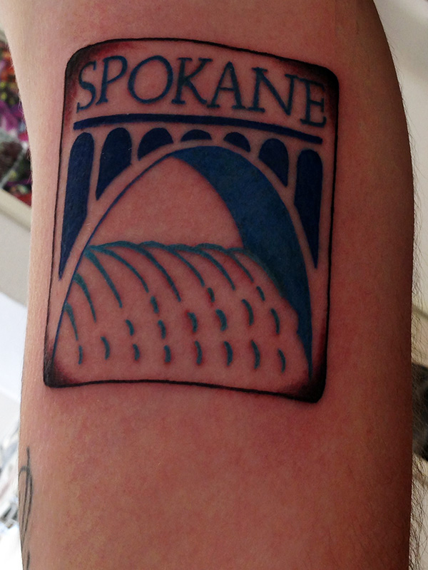 Screamin 39 ink tattoo in spokane wa by jets like taxis for Tattoo shops in spokane