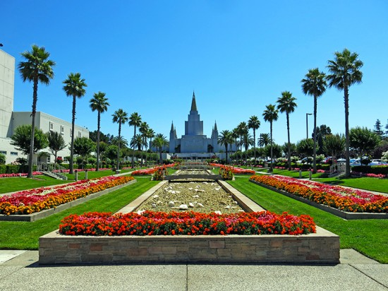 Oakland California Mormon Temple by Jets Like Taxis