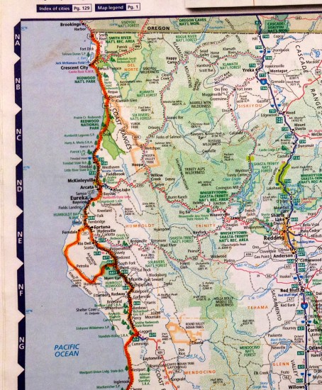 highway map of northern california with Region Report The North Coast And Eureka California on PCHWY 20Trip 202006 also Huntington Dog Beach likewise Hummingbird Migration also San Luis Rio Colorado Sonora furthermore Mussel Rock Park Beach.