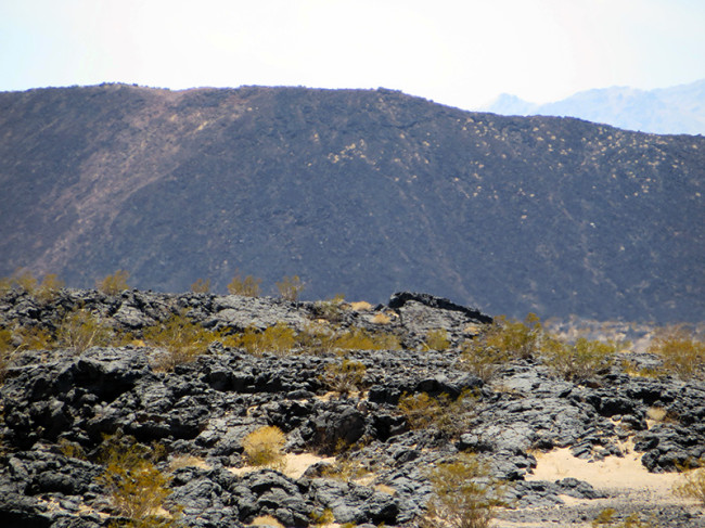 Amboy Crater on Route 66 by Jets Like Taxis