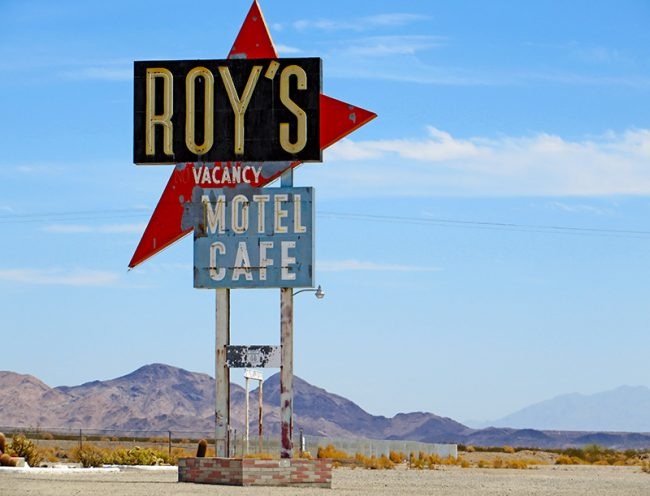 Daggett, CA on Route 66 by Jets Like Taxis
