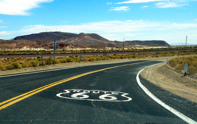 Route 66 in California by Jets Like Taxis