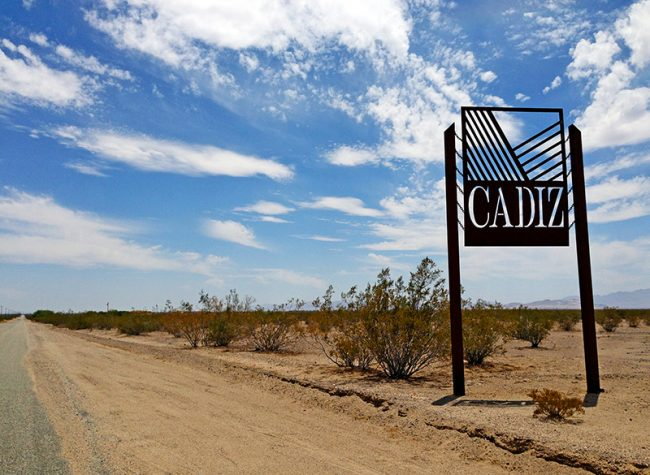 Cadiz, CA on Route 66 by Jets Like Taxis