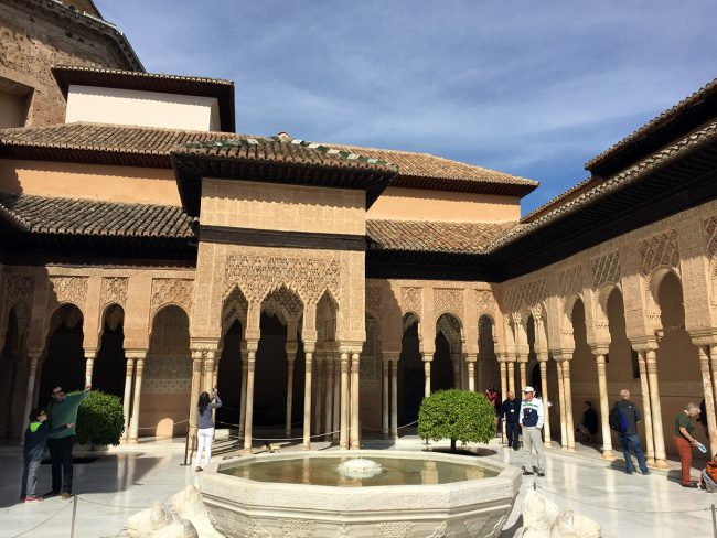 Alhambra in Granada, Spain by Jets Like Taxis