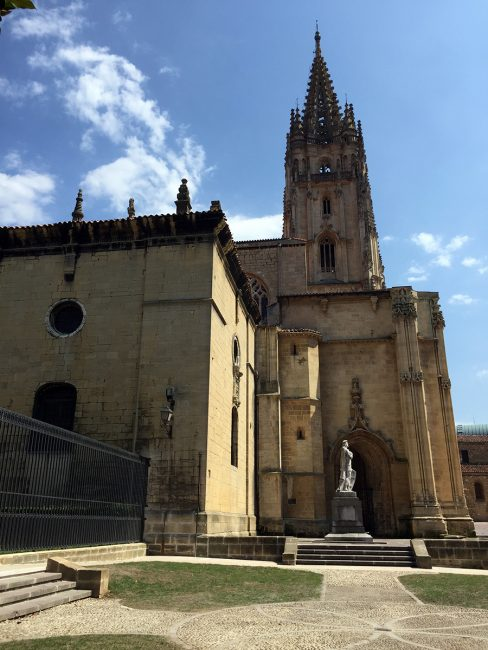 Cathedral of San Salvador in Oviedo, Spain by Jets Like Taxis