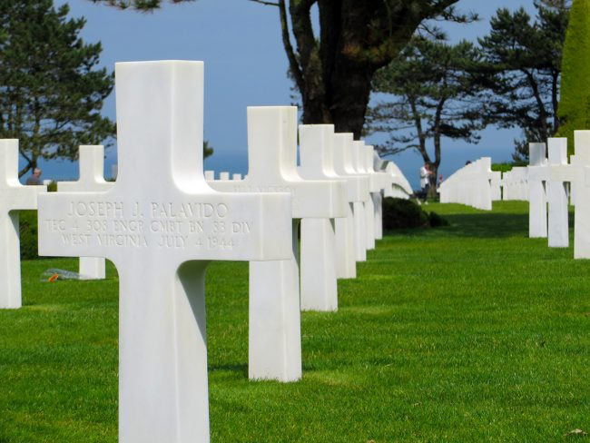 American Cemetery in Normandy by Jets Like Taxis