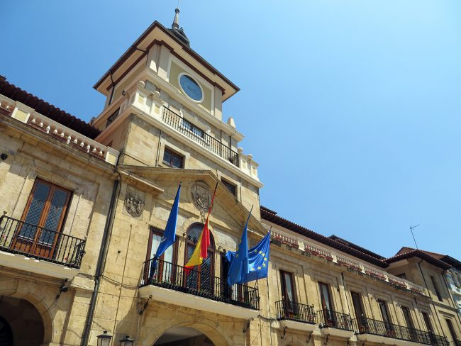 Ayuntamiento in Oviedo, Spain by Jets Like Taxis