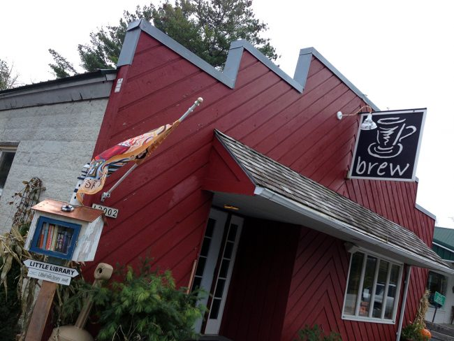 Brew Coffeehouse in Ellison Bay, WI by Jets Like Taxis