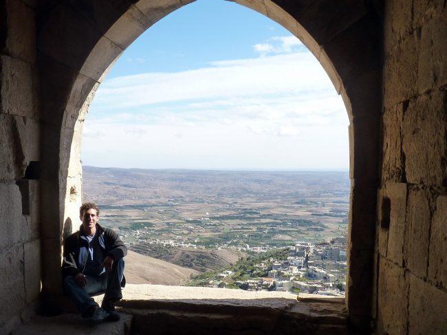 Krak de Chevalier, Syria by Wandering Earl