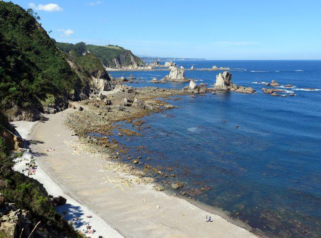 Playa del Silencio, Asturias by Jets Like Taxis