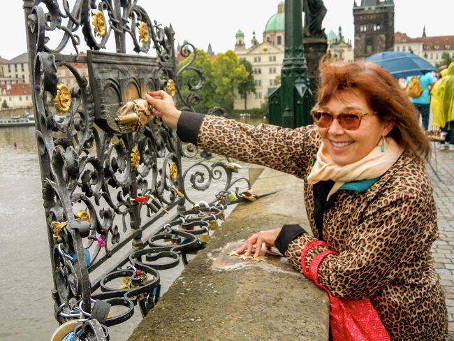Karen McCann of Enjoy Living Abroad in Prague