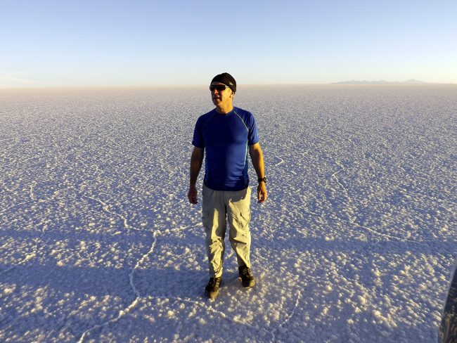 Tim Leffel in Bolivia