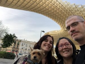 Gigi Griffis and Jets Like Taxis in Seville, Spain