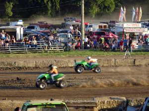 Drag Racing at the Pickaway County Fair by Jets Like Taxis