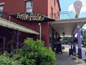 The Purple Fiddle in Thomas, WV by Jets Like Taxis