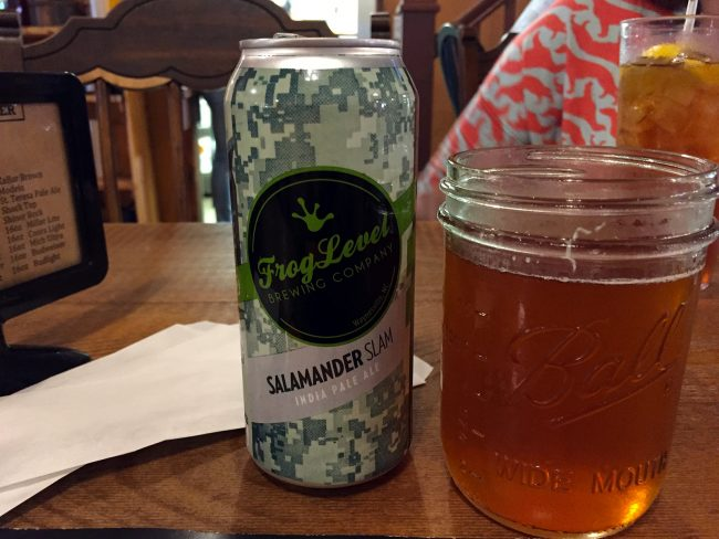 Frog Level Brewing in Waynesville, NC by Jets Like Taxis