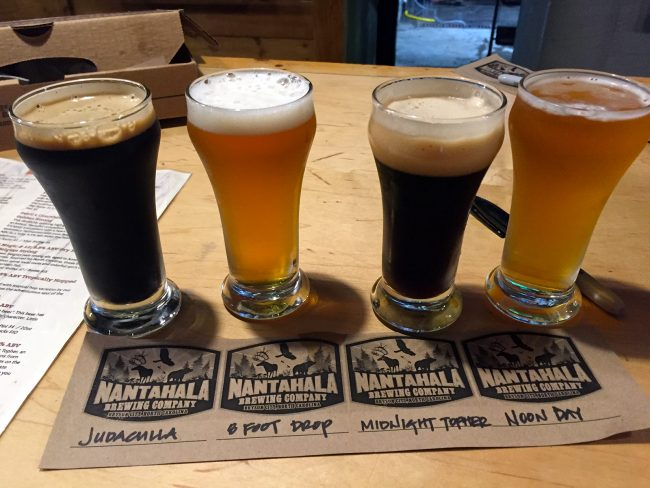 Nantahala Brewing Co. in Bryson City, NC by Jets Like Taxis