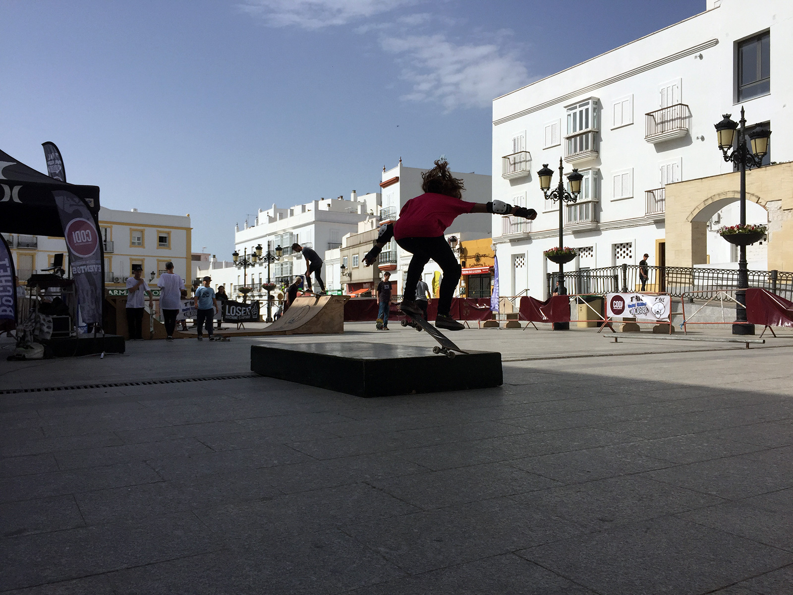 Skate Contest in Chiclana de la Frontera, Spain by Jets Like Taxis
