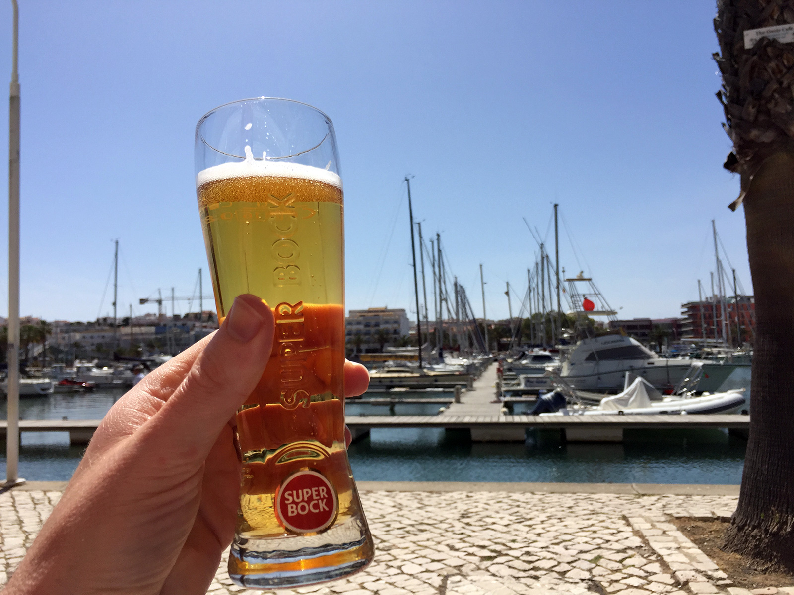 Beer in Lagos, Portugal by Jets Like Taxis