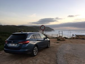 Opel Astra Wagon at Praia do Amado, Portugal by Jets Like Taxis