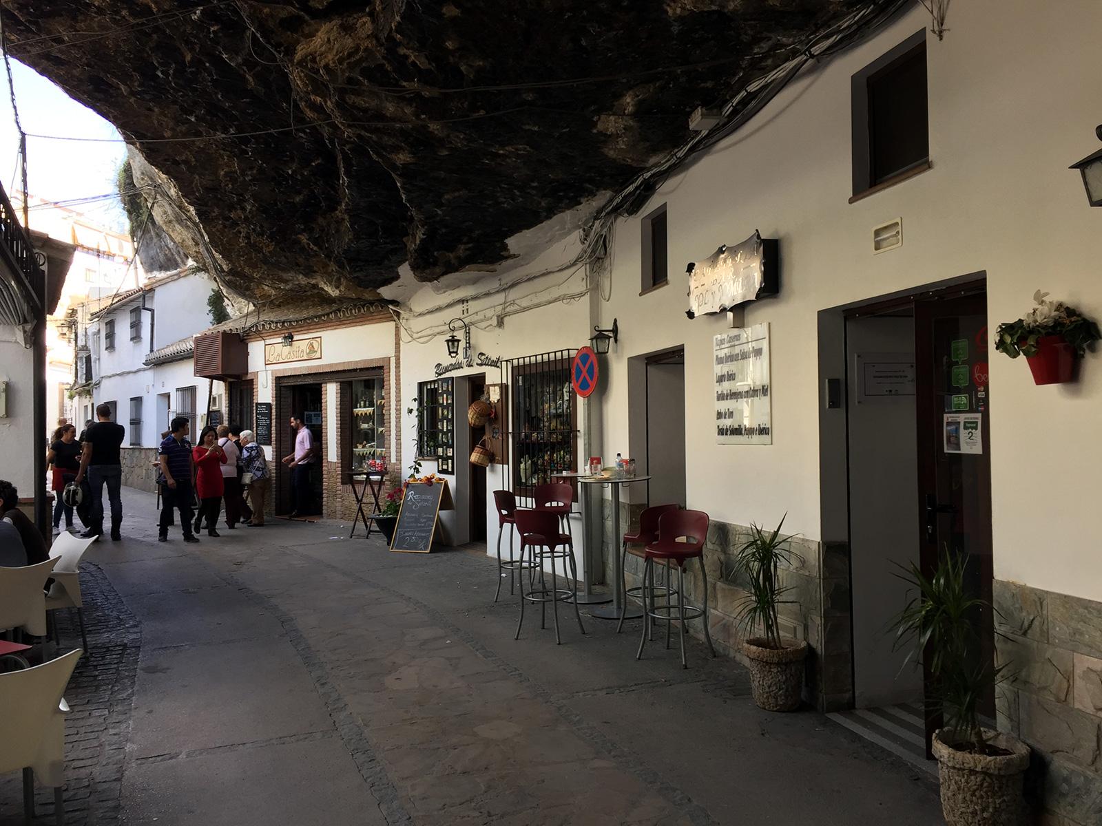 Setenil de las Bodegas, Spain by Jets Like Taxis