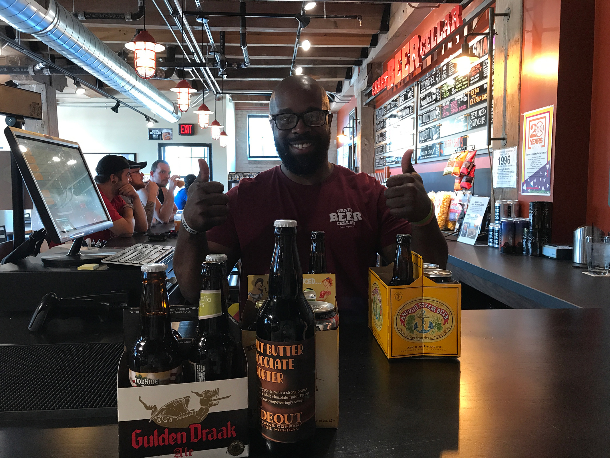 Craft Beer Cellar in Grand Rapids by Jets Like Taxis