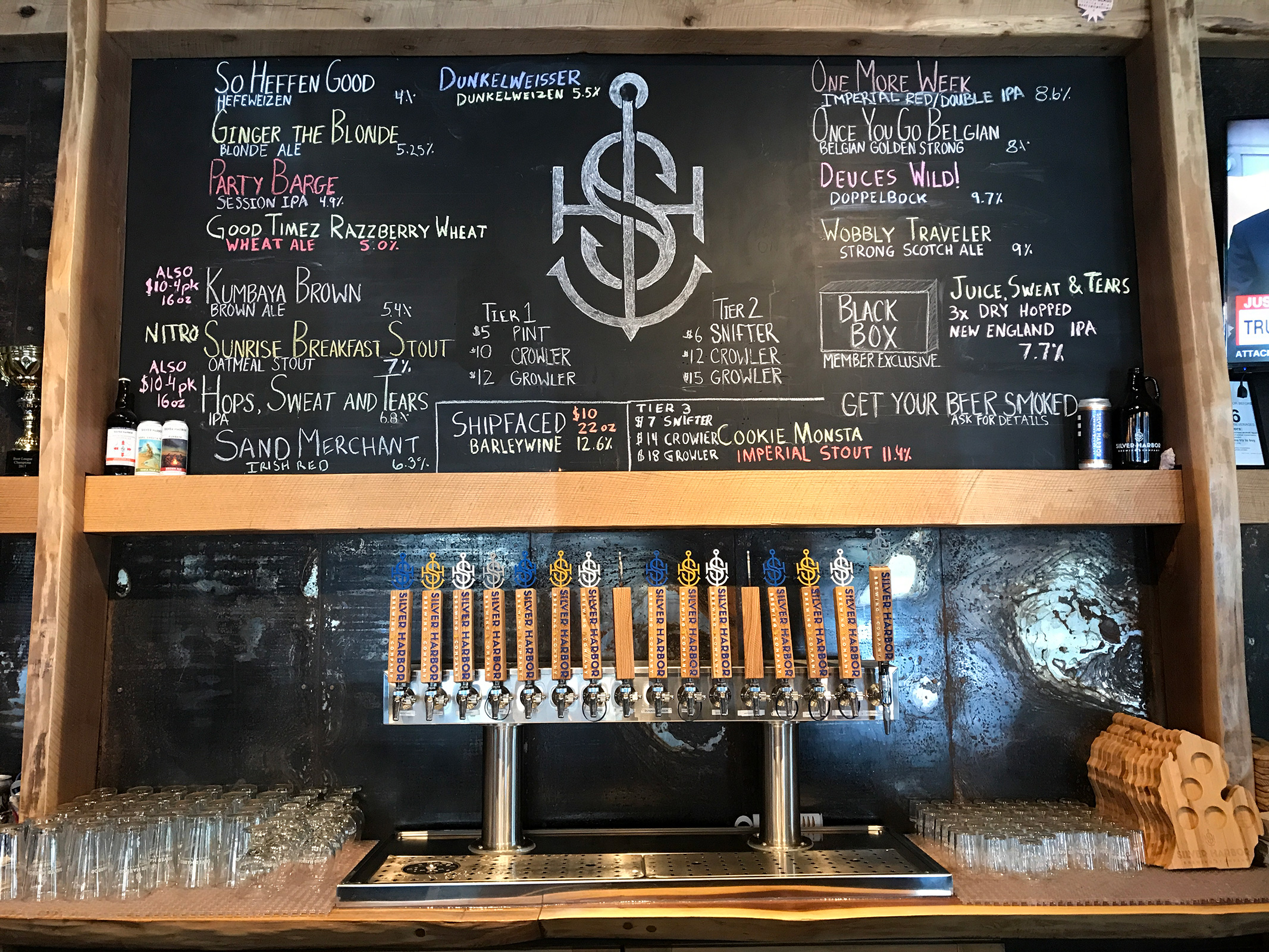 Silver Harbor Brewing Co. in St. Joseph, Michigan by Jets Like Taxis / Hopsmash