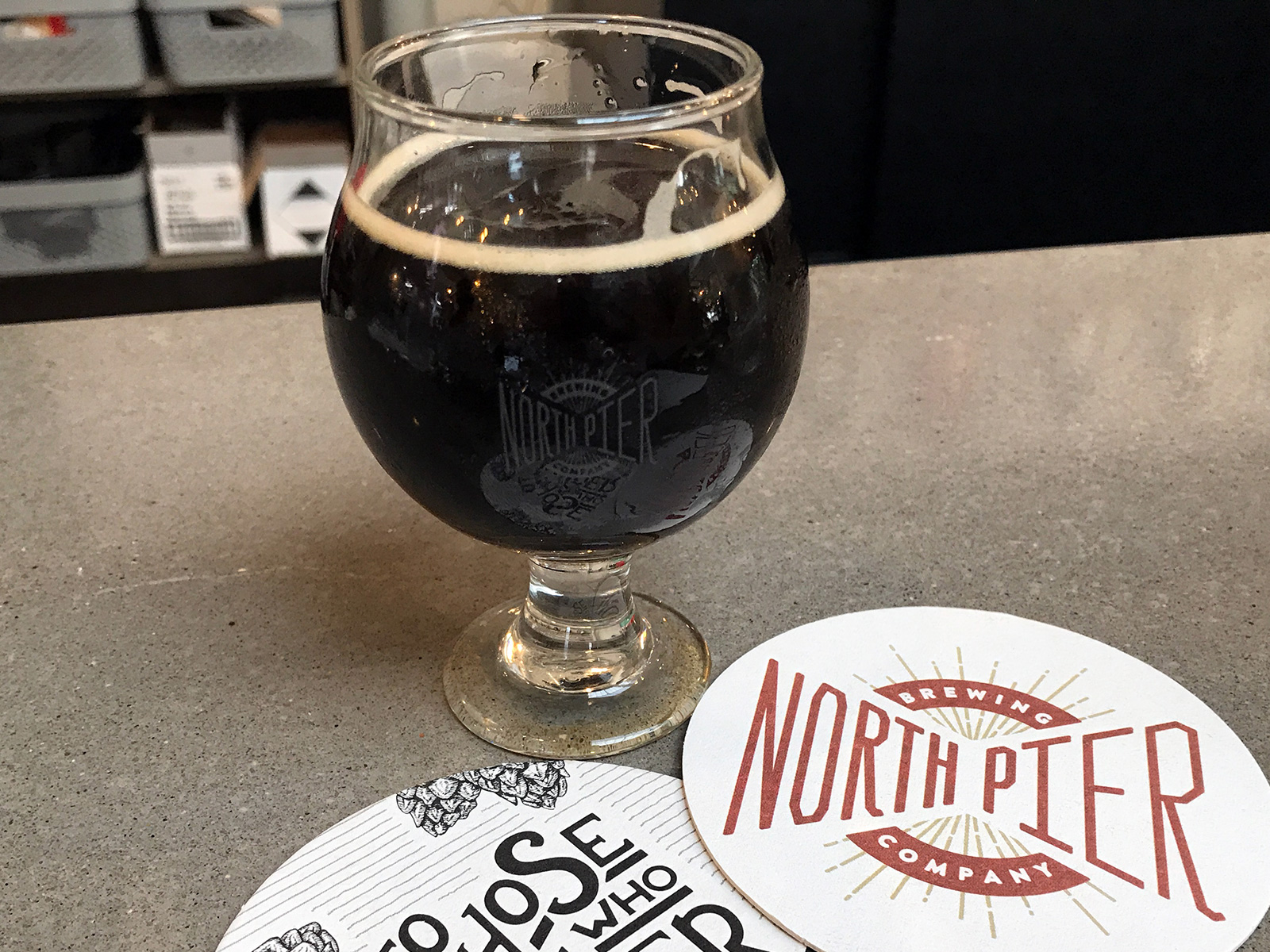 North Pier Brewing Co. in Benton Harbor, Michigan by Jets Like Taxis / Hopsmash