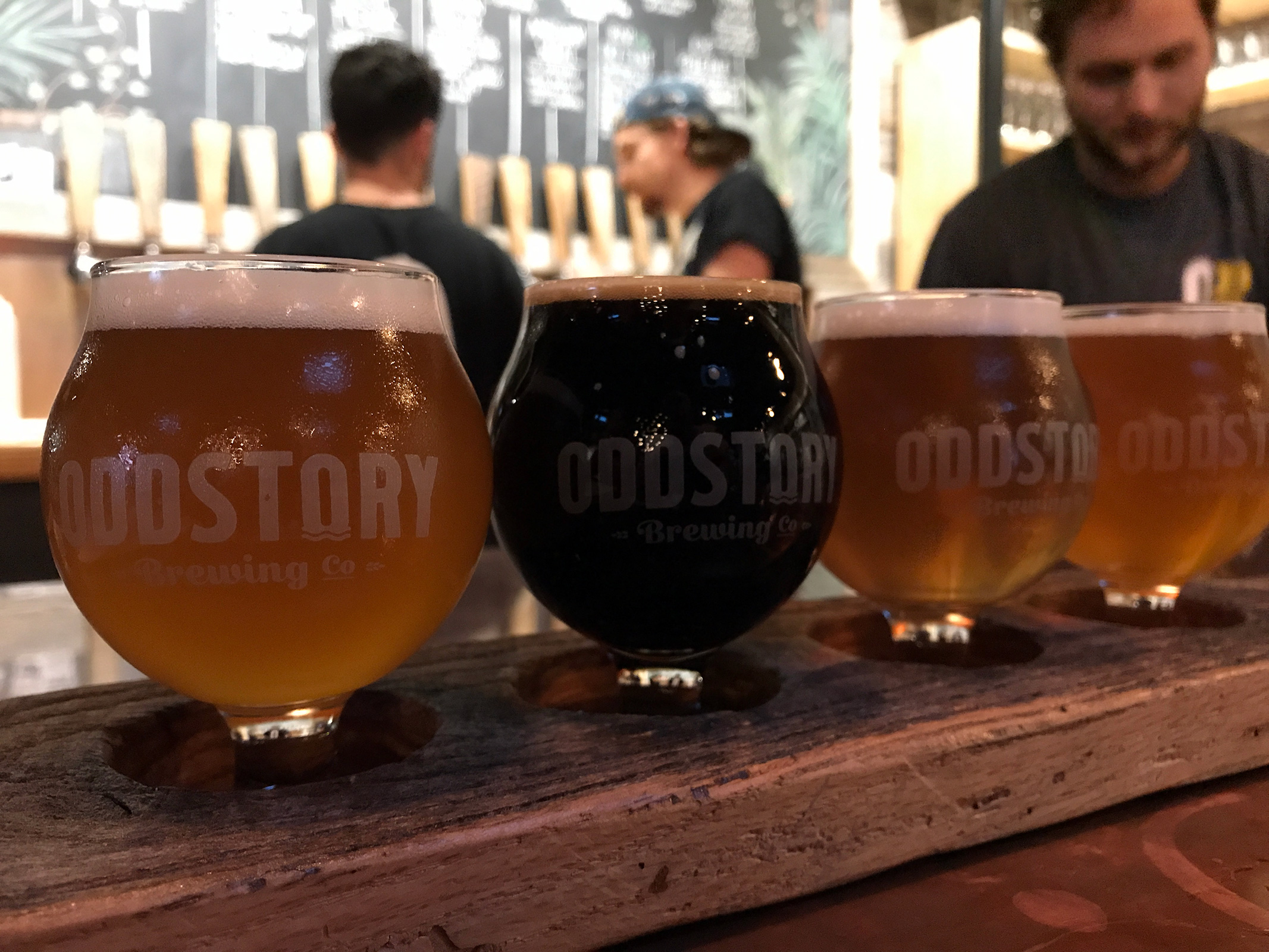 Oddstory Brewing Co. in Chattanooga, TN by Jets Like Taxis