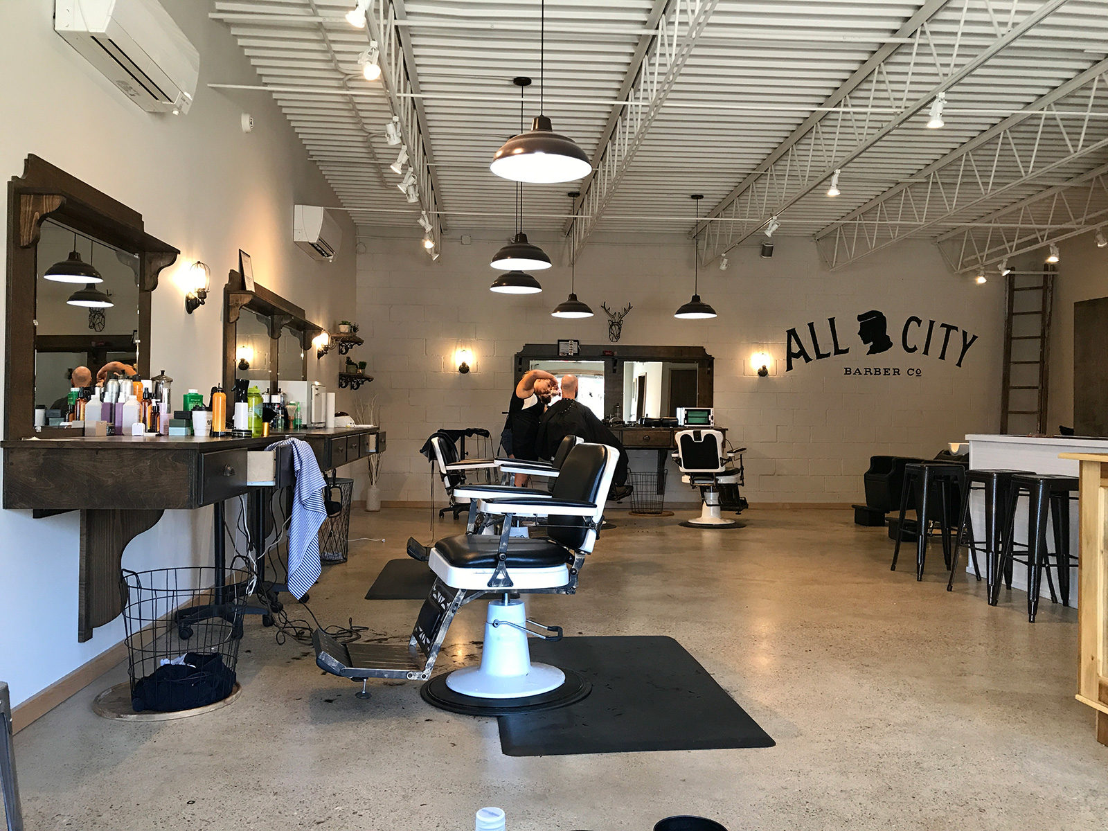 All City Barber Co. in Chattanooga, TN by Jets Like Taxis