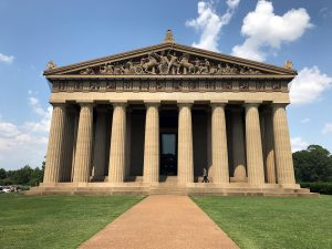 Parthenon in Nashville, TN by Jets Like Taxis