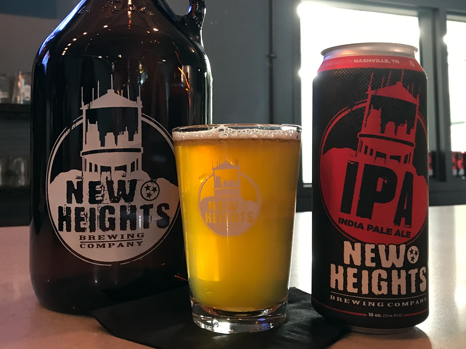 New Heights Brewing Co. in Nashville, TN by Jets Like Taxis / Hopsmash