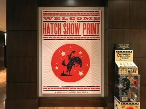 Hatch Show Print in Nashville, TN by Jets Like Taxis