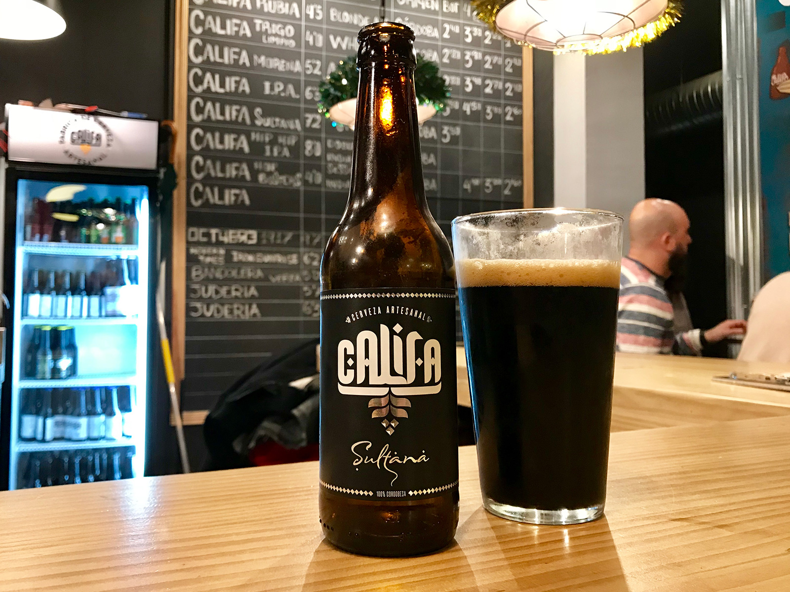 Cervezas Califa in Cordoba, Spain by Jets Like Taxis / Hopsmash
